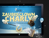 Web Design & Composing: Magic Clown Show