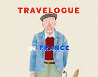 TRAVELOGUE in France /  Carnet de voyage en France