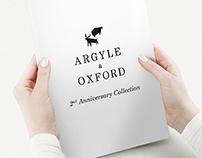 Argyle & Oxford 2nd Anniversary Look Book