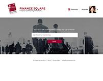 Finance Square app