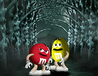 m&m's halloween promotion 2013