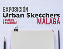 Urban Sketchers' exposition Málaga