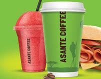 Asante Coffee Branding