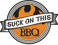 Suck On This BBQ Branding and website