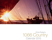 A3 1066 country calendar