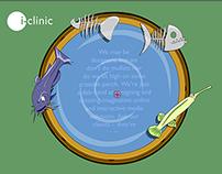 i-Clinic flash microsite