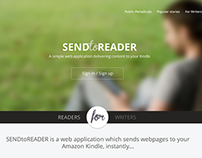 SendToReader.com redesign