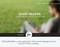 SendToReader.com redesign