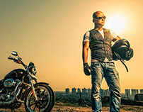 The Rockstar Experience : Karan Chettri on his Harley