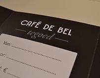 Café de Bel - tegoed