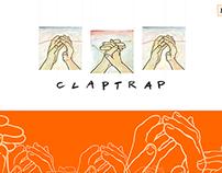 Claptrap flash microsite