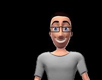 Personagens em 3D