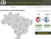 Apuração das Eleições 2014 pelo Brasil