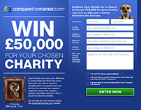 Compare The Market - Win £50k for your charity