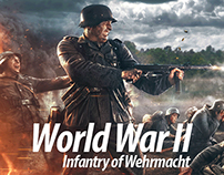 World War II Infantry of Wehrmacht