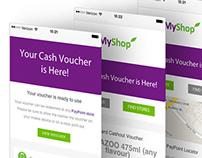 MyShop Interface