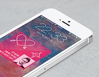 Date app | עיצוב אפליקציה לשיר ׳אהבה אינדיאנית׳