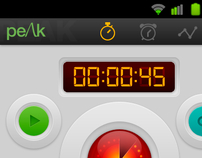 Android Stopwatch App
