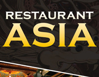 ASIA Restaurant / Business Card