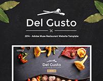 Website Design - Del Gusto