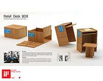 Relif desk box