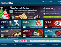 William Hill Christmas Page