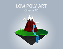 low poly art :: Cinema 4D