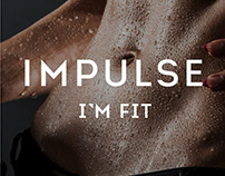 Impulse. I'M FIT. Ftness club. Branding. Identity.