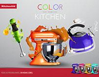 Campanha Color Your Kitchen KitchenAid