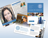 George Brown College Brochure and Banner