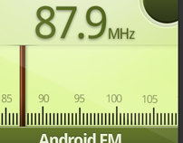 Conceptual 'Radio' icon