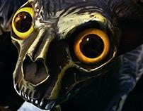 Digital Painting Feline