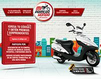 Web Promocional Honda