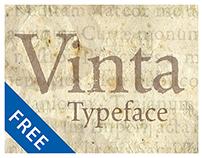 Vinta typeface