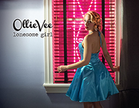 Ollie Vee 'Lonesome Girl' CD Artwork