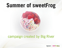Summer of sweetFrog Social Campaign
