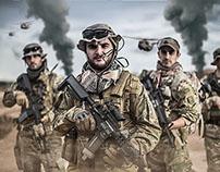 Deployment at the desert
