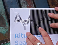 Backlit Kinetic Op Art Printwork