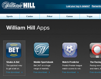 Will Hill Apps Page Design