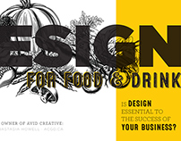 Design for Food & Drink by Avid Creative