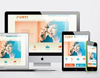 Site FAM - Design Responsivo
