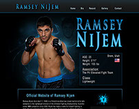 Ramsey Nijem - Professional UFC Fighter