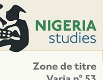 Charte Revue Nigeria Studies