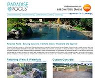 Paradise Pools - Pool Contractor Sacramento
