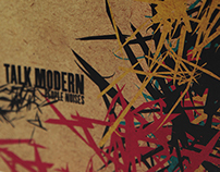 Talk Modern Digipak Layout