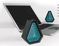 Volcom Desktop Speakers