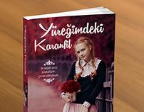 Yüreğimdeki Karanfil | Book Cover Design Mockups
