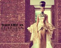 WALK LIKE AN EGYPTIAN - Fashion editorial