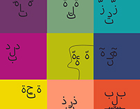 Arabic calligraphy faces