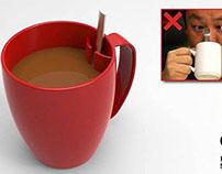 Sponish Tea Cup
